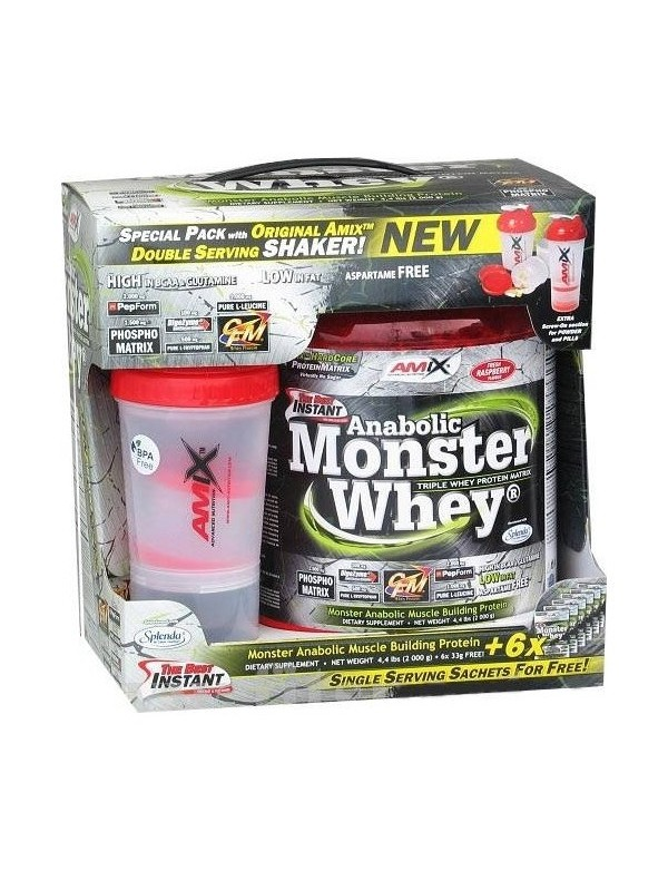 PROTEINA ANABOLIC MONSTER WHEY 2,3 KG